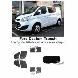 Transit Custom (2014-ACTUEL) Vitres ouvrantes et hayon