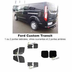 Transit Custom (2014-ACTUEL) Vitres ouvrantes et 2 portes arrières